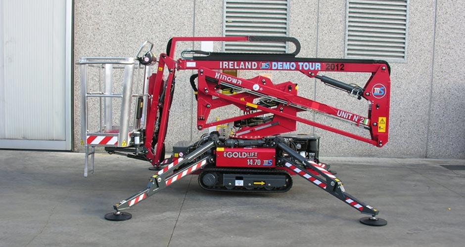 Image result for What is a Tracked Spider Lift?