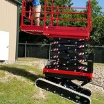 Crawler Scissor Lift - Almac BiBi 1090 BL Evo